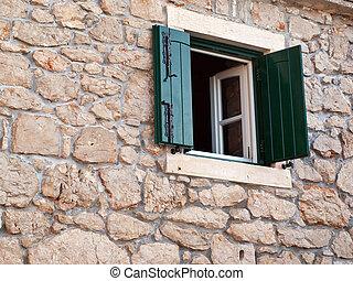 Stone house exterior