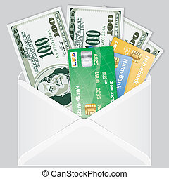 Open the Envelope with Dollar Bills - Open the Envelope with...