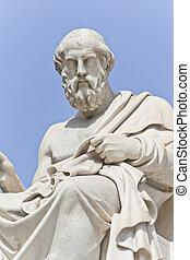 griego,  platon, antiguo, filósofo
