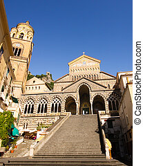 Amalfi Coast Church - The Church of Amalfi in the southern...