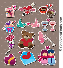 love ,stickers