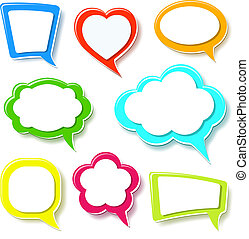 Colorful frame - A set of Colorful frames Vector...