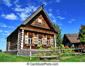 House - An old russian izba