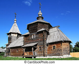 Wooden orthodox church - Church of the Resurrection (1776),...