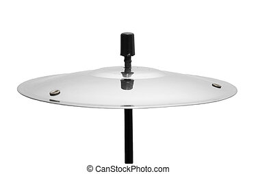 plate from the drum on a white background
