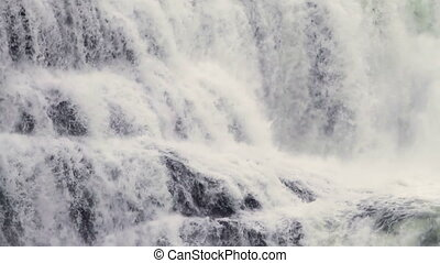 Dawson Falls close up - Dawson Falls in Wells Gray...