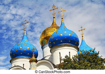 Orthodox cathedral - Dormition cathedral (1585) in Trinity...