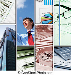 Business collage of some business pictures - Business...