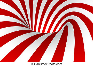 Red & White background - Red & White abstract background
