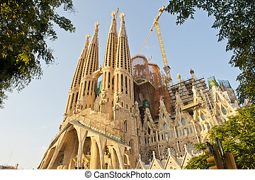Sagrada Familia by Antonio Gaudi