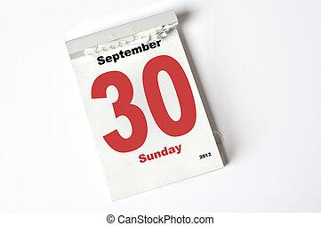 30. September 2012