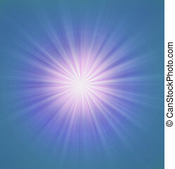Radial zoom burst of energy, abstract background...