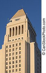 Los Angeles City Hall - Los Angeles city hall in downtown