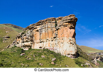 Brandwag buttress - The magnificent Brandwag buttress in...