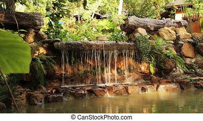 waterfall - decorative waterfall