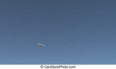 Small Plane Overhead Tilt Spin