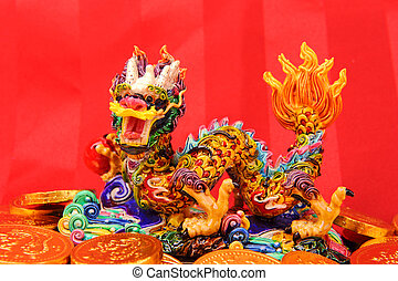 Chinese New Year Ornaments--Traditional Dancing...