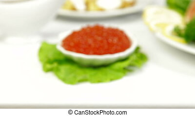 Red Caviar, Closeup Zoom