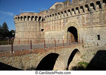 Porta Nova (Colle di Valdelsa) - A beautiful medieval...