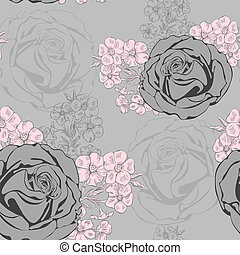 Vector seamless background. - Vector seamless background...