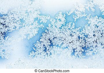 winter rime background
