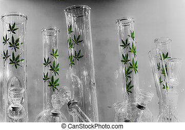 Waterpipes with weed marijuana logo - Water Pipes with weed...