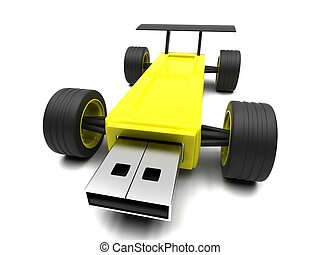 High-speed USB flash drive