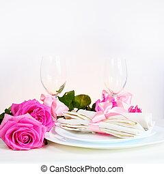 Arrangement for Romantic Dinner