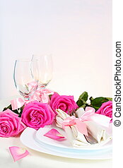 Arrangement for Romantic Dinner Vertical - Arrangement for...