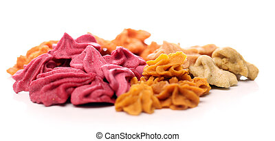 Close up of colorful candies