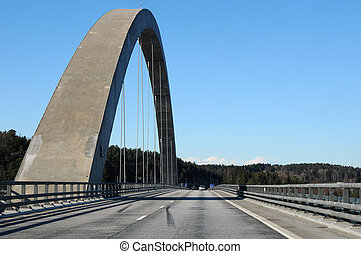 Svinesund Bridge, Norway / Sweden - Svinesund, the bridge...