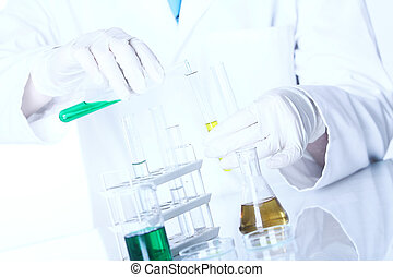 Science research in laboratory - Some science research in...