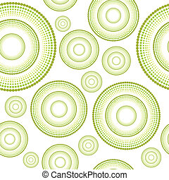 Floral seamless pattern background in green tones