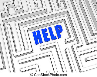 Help in labyrinth