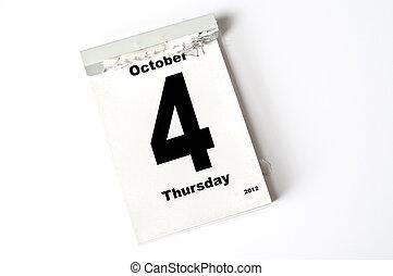 4. October 2012