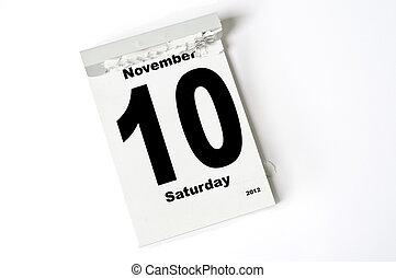 10. November 2012