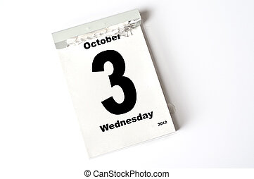 3. October 2012