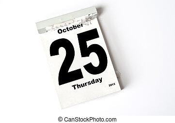 25. October 2012
