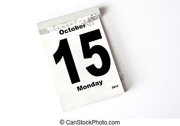 15. October 2012