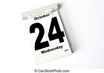 24. October 2012
