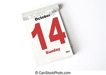14. October 2012