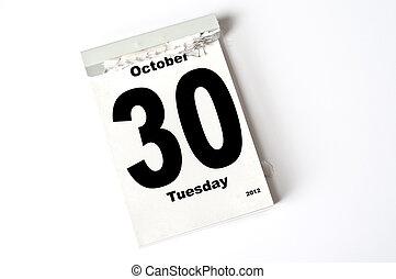 30. October 2012