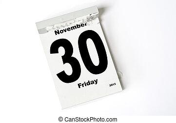 30. November 2012