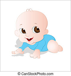 Adorable Baby - Cute Lovely Design Art of Adorable Baby...