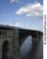 Eads Bridge - Ead's bridge in St. Louis, Missouri