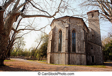 Church of San Giovanni in Tuba, Italy - Church of San...