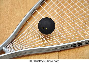 raqueta, Pelota, calabaza