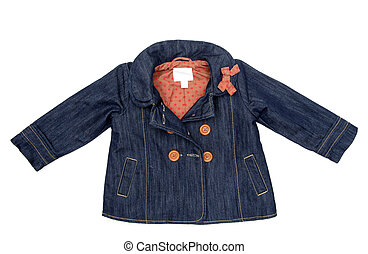 jacket  - childrens jacket isolated on white