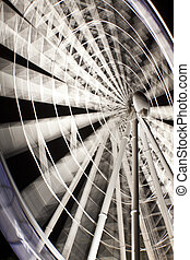Brisbane Wheel close up