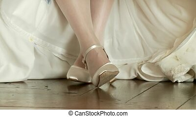 Bridal With Dress and shoes